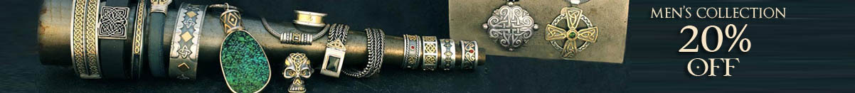 Celtic Mens Jewelry 20% off